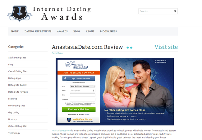 Anastasia date review